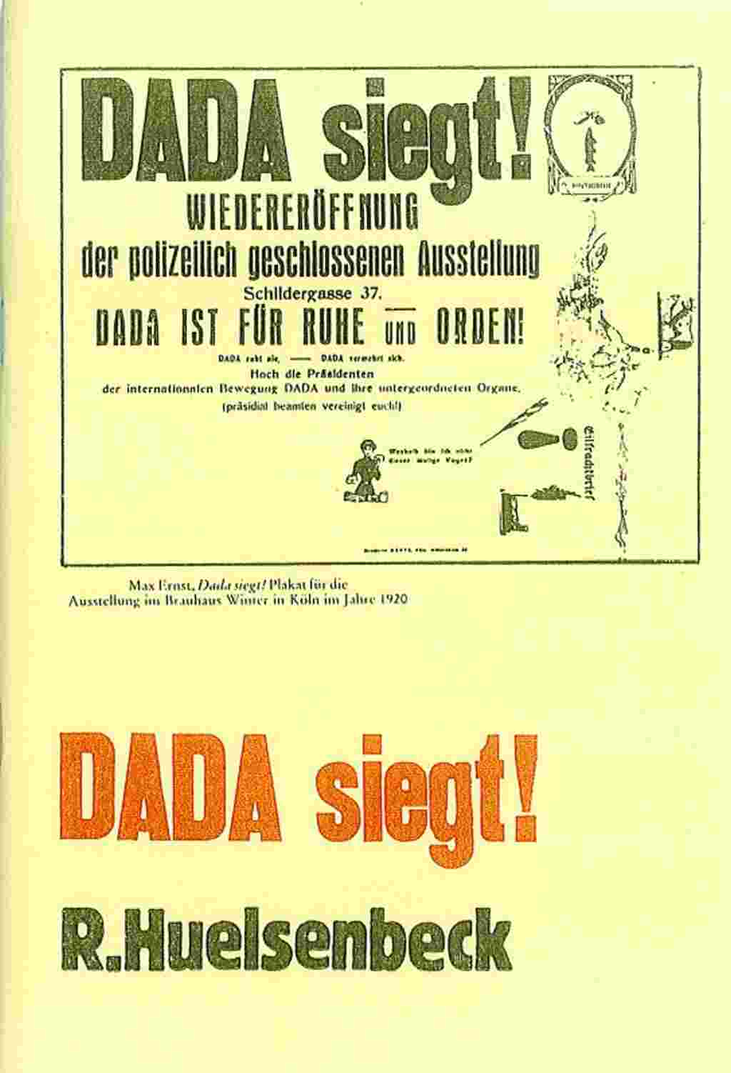 Dada siegt