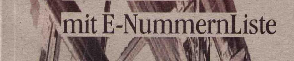 E Nummern