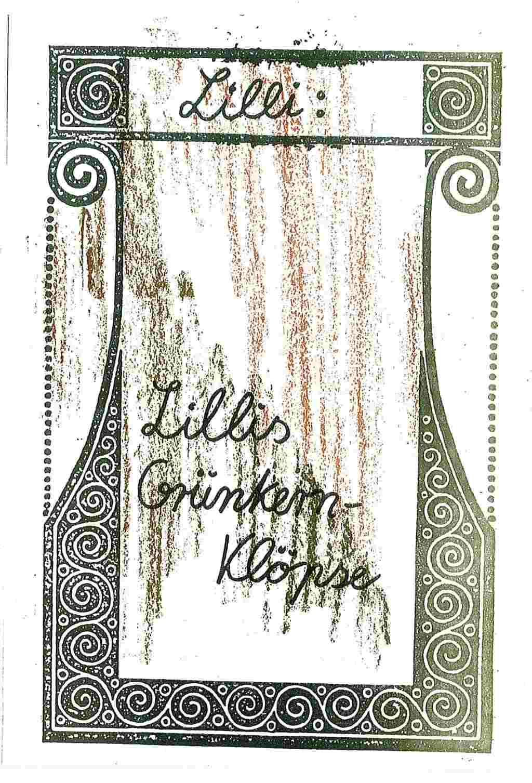 Lillis Grünkernklöpse