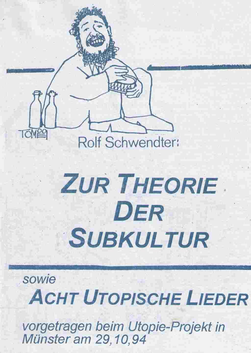 Schwendter Subkultur