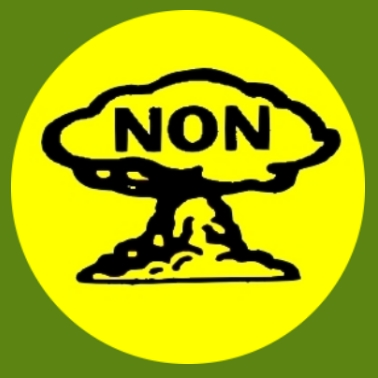 bu29 Gegen Atomwaffen gelb