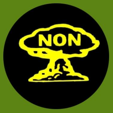 bu30 Gegen Atomwaffen schwarz