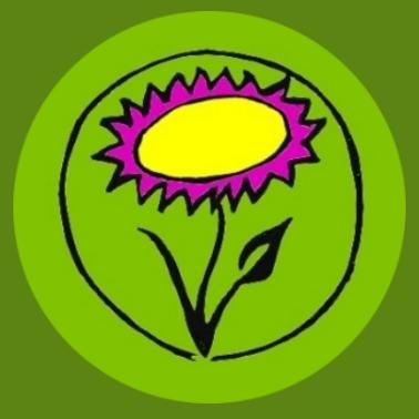 bv01 Veganblume grün