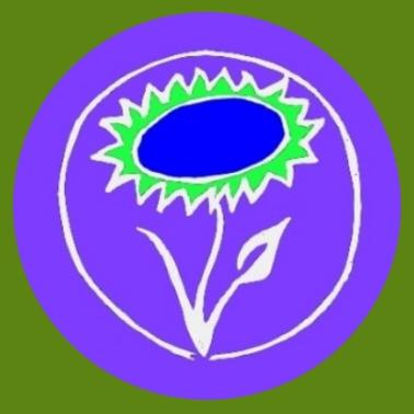 bv02 Veganblume lila