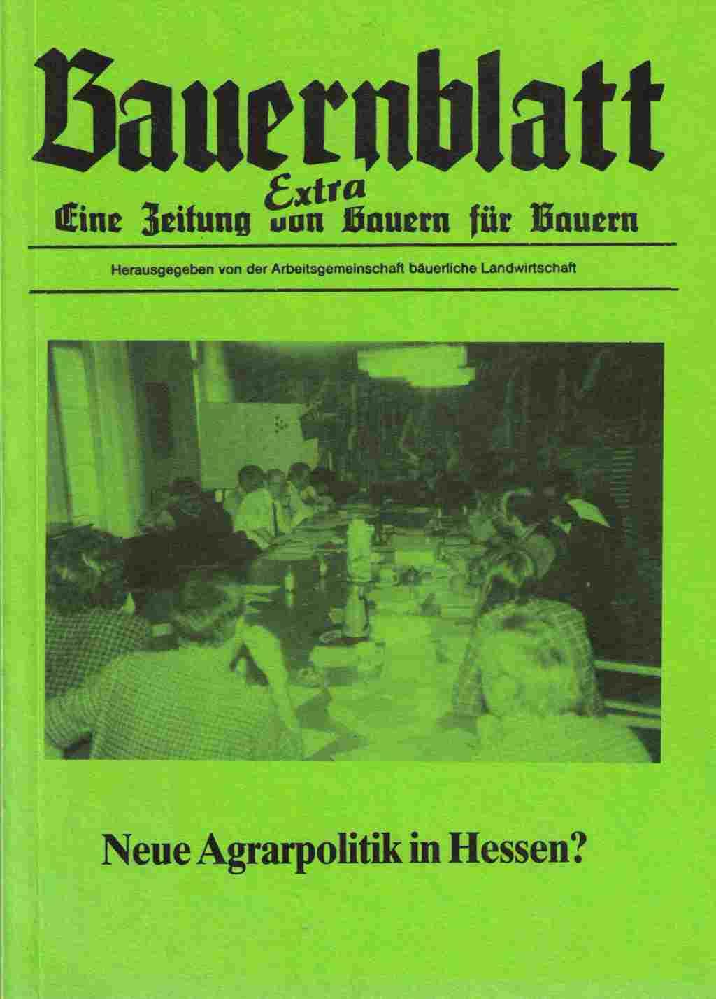 Bauernblatt Extra Hessen