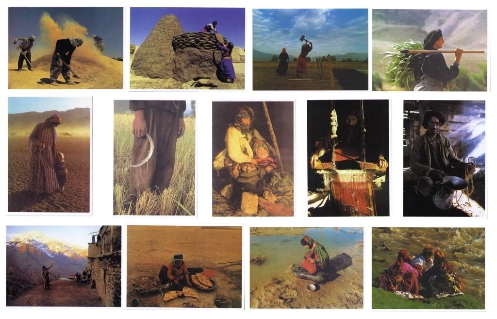 Iran 13 Postkarten