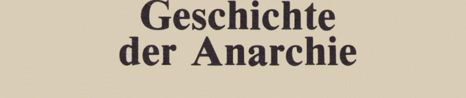 Nettlau Anarchie Ergänzungsband