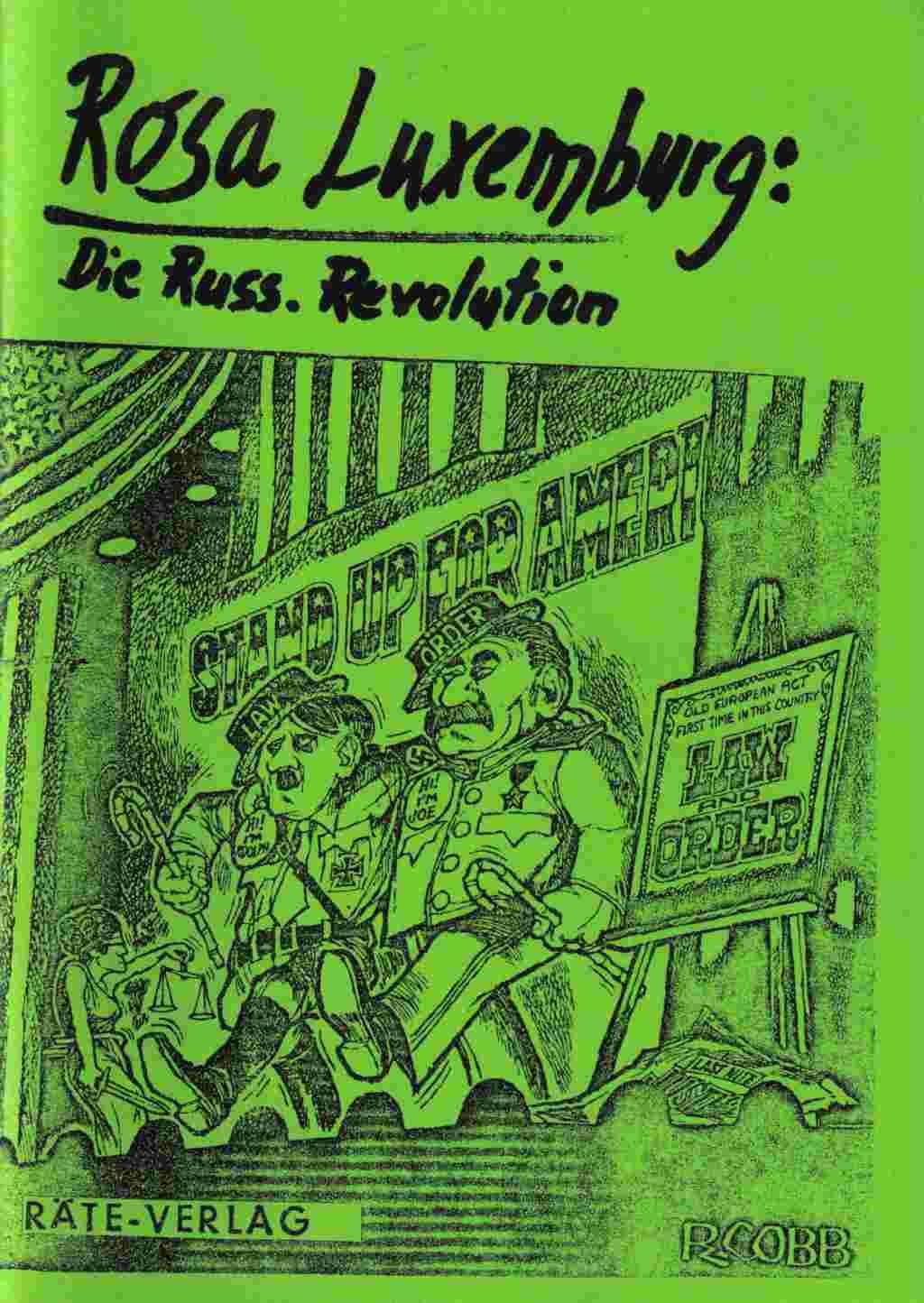 Rosa Luxemburg Russische Revolution