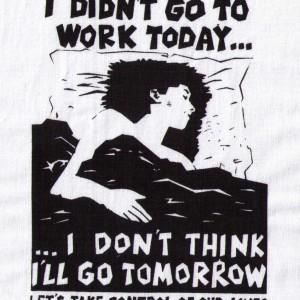 Aufnäher not to work weiss