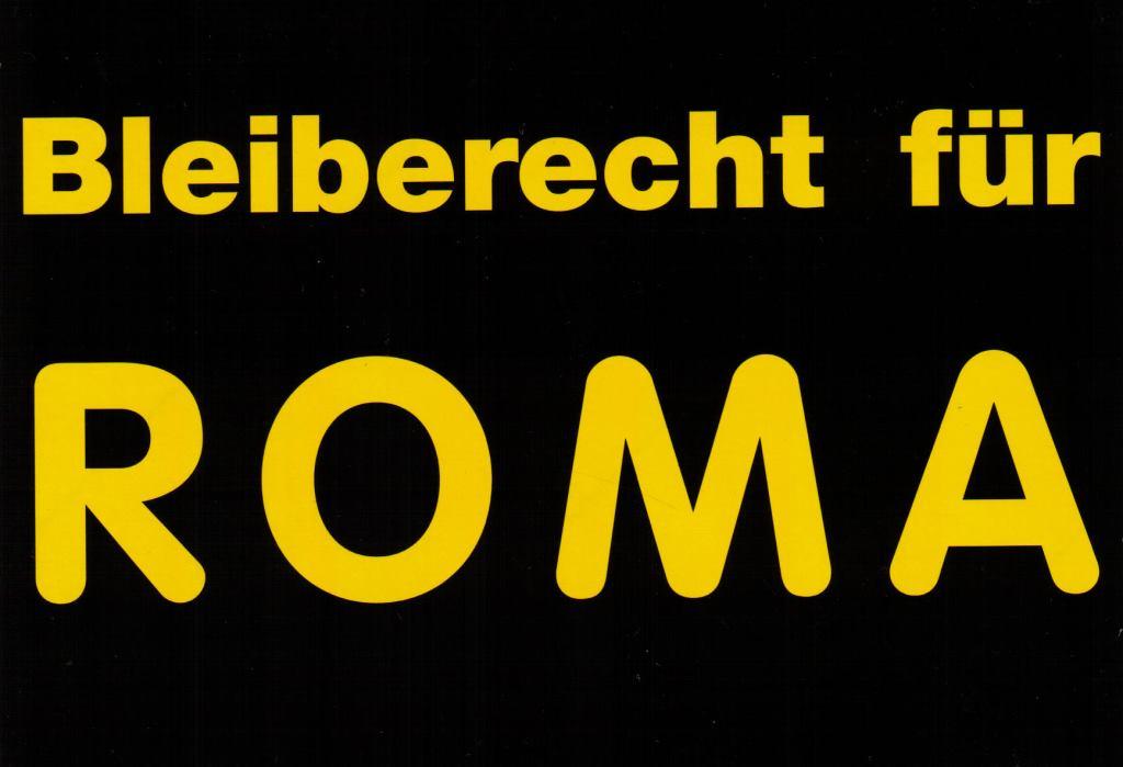 bleiberecht für roma