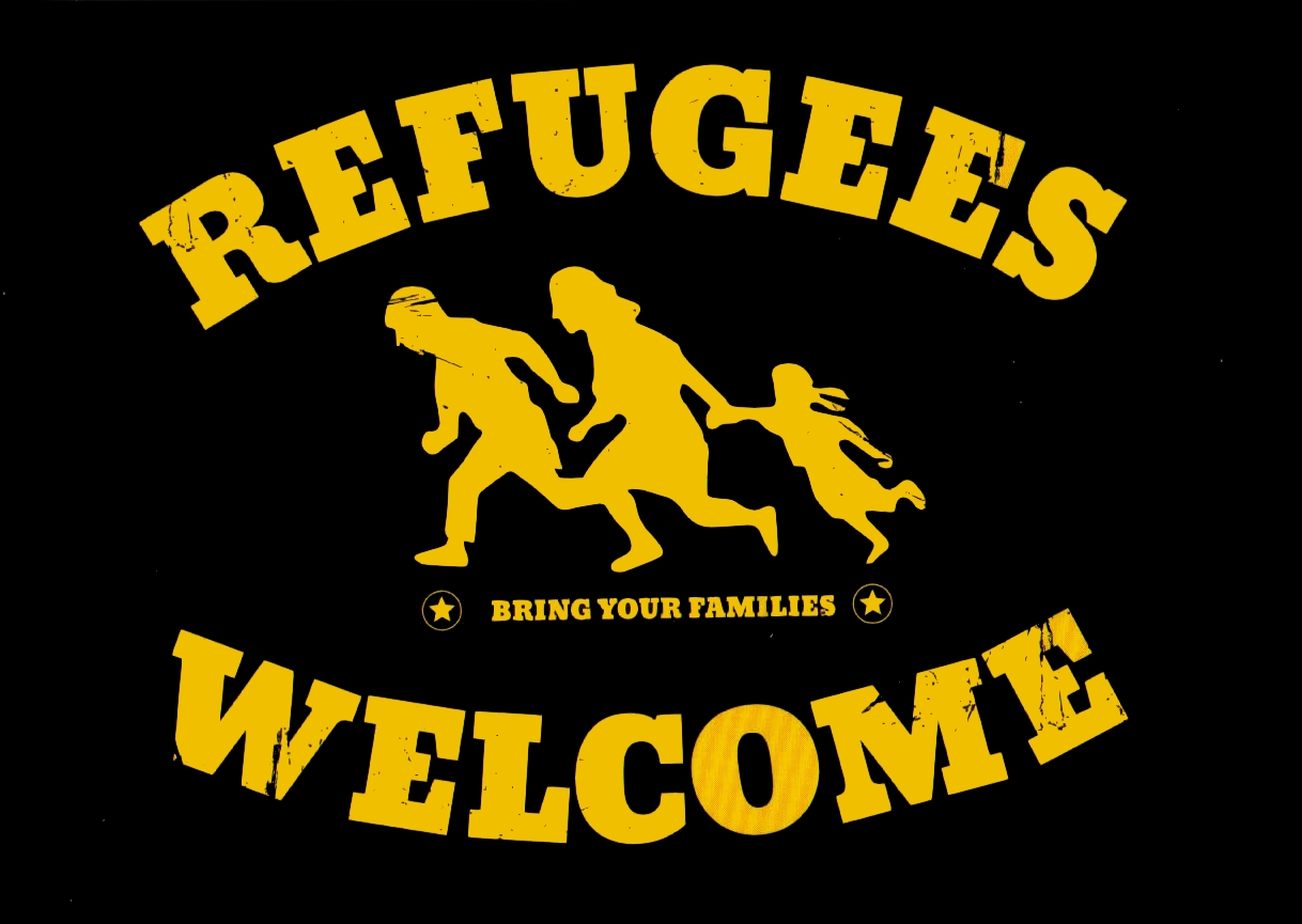 Poster Refugees Welcome