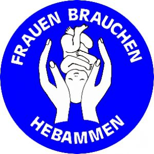 ba41 Hebammen weissblau