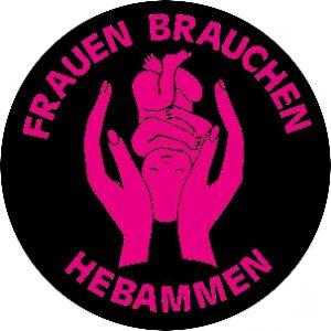 ba49 Hebammen pinkschwarz