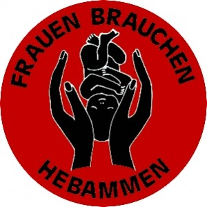 ba51 Hebammen schwarzrot