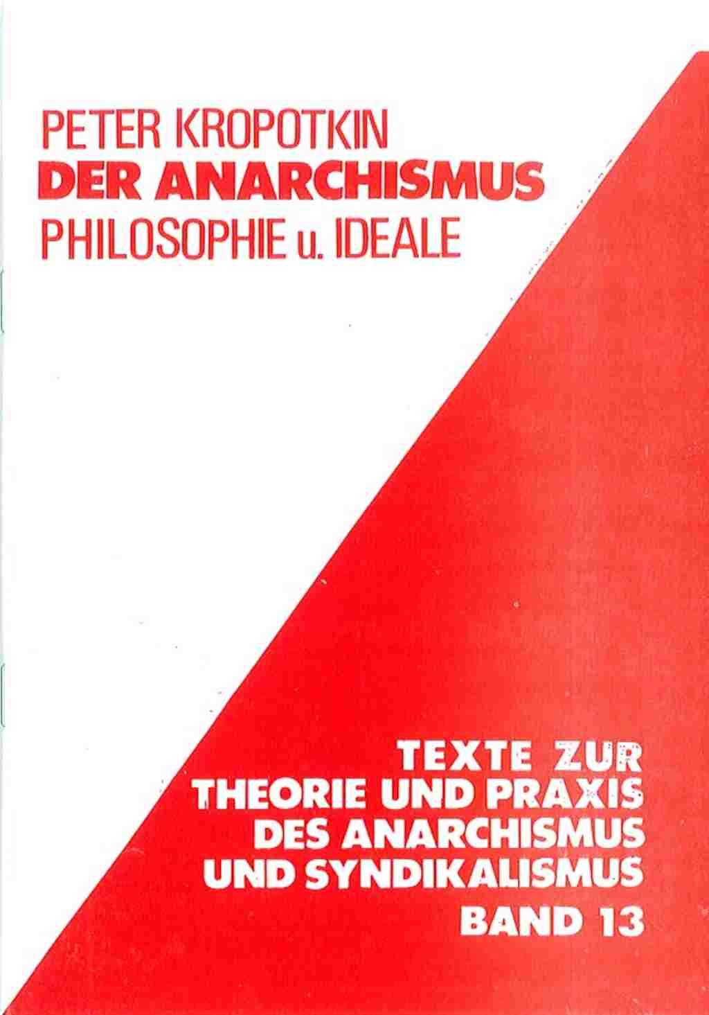 Kropotkin Philosophie