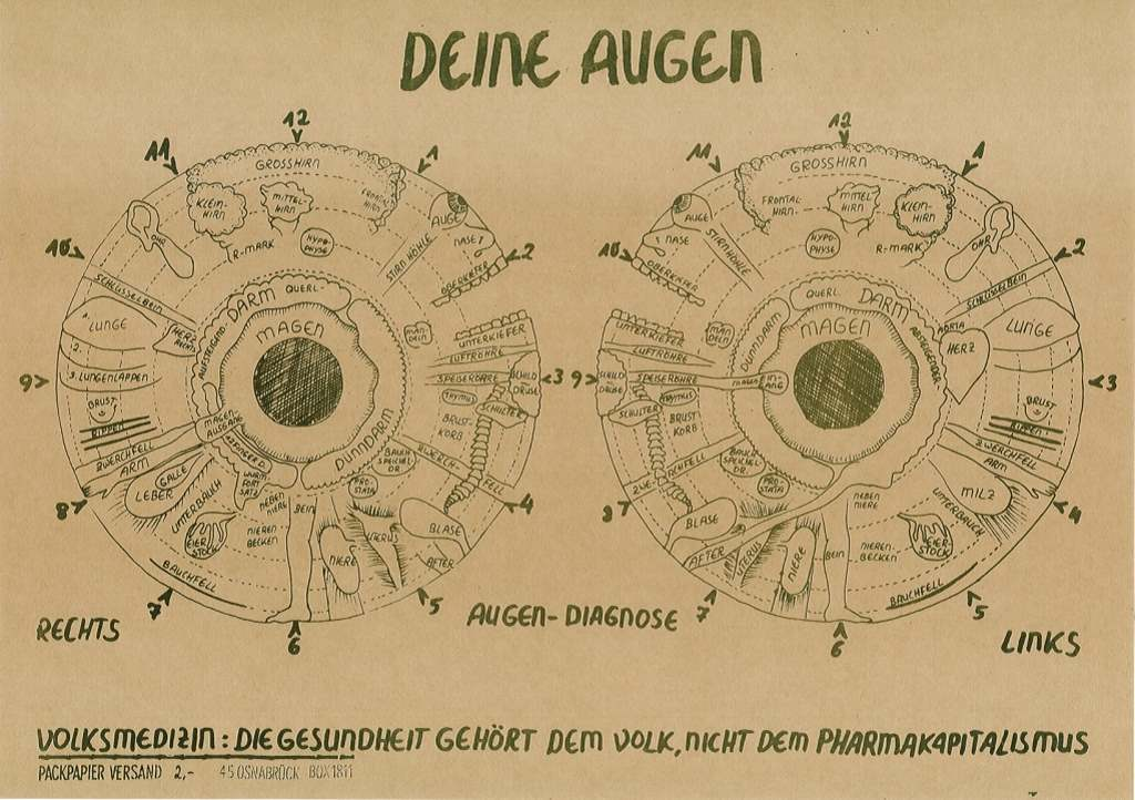 Poster Augendiagnose