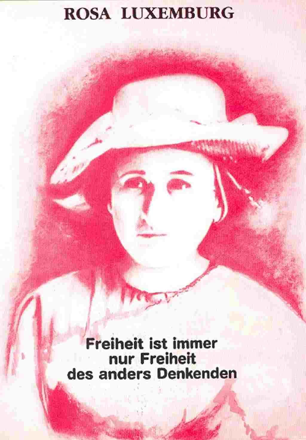 Poster Rosa Luxemburg