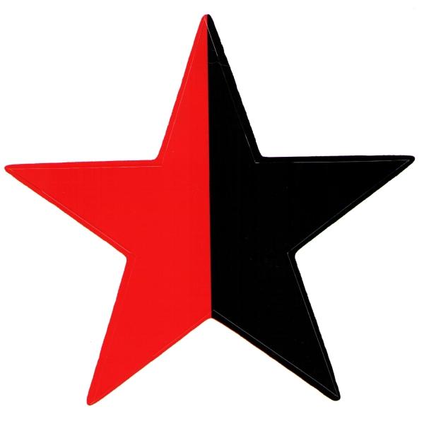stern schwarz rot