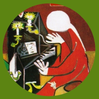 bk33 Picasso Klavier