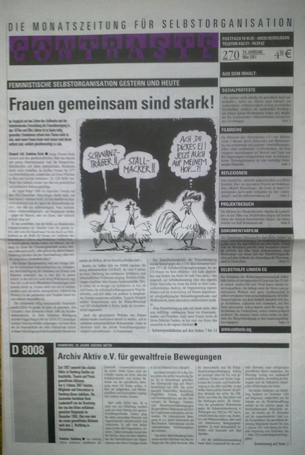 Contraste 270 März 2007