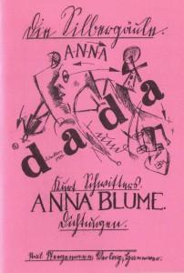 Schwitters Anna Blume