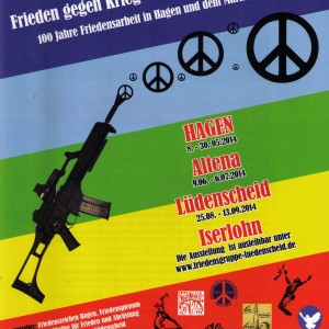 Ausstellung Frieden gg Krieg